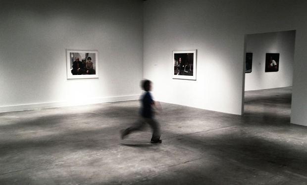 Dziecko w muzeum