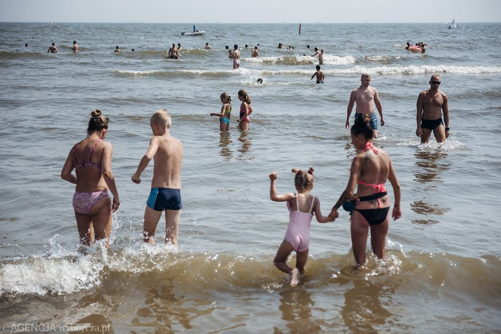 Gdynia, plaża miejska