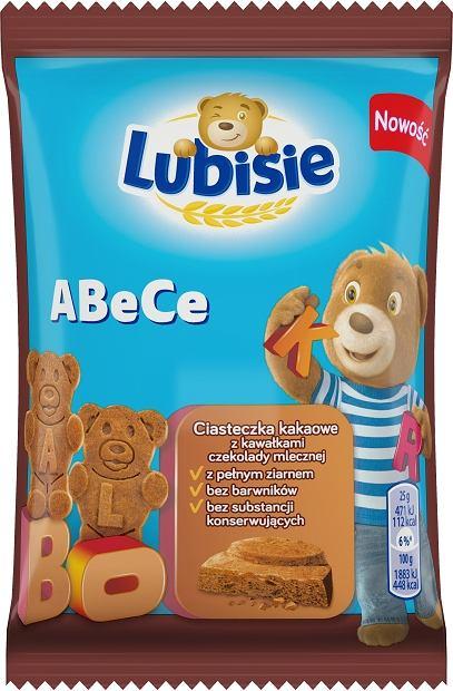 Lubisie ABeCe - nowe ciasteczka dla dzieci Lubisie