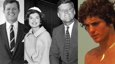 "John Fitzgerald Kennedy, Robert F. Kennedy, Jacqueline ""Jackie"" Kennedy, John Fitzgerald Kennedy Junior."