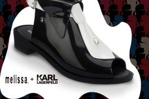 ee86292f7ad5 Karl Lagerfeld i Melissa  zabawne buty w stylu projektanta
