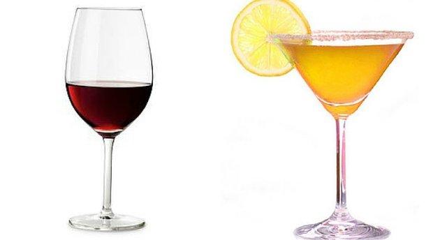 Sprawd�, jak alkohol wp�ywa na twoj� form� i sylwetk�! Wino kontra drink