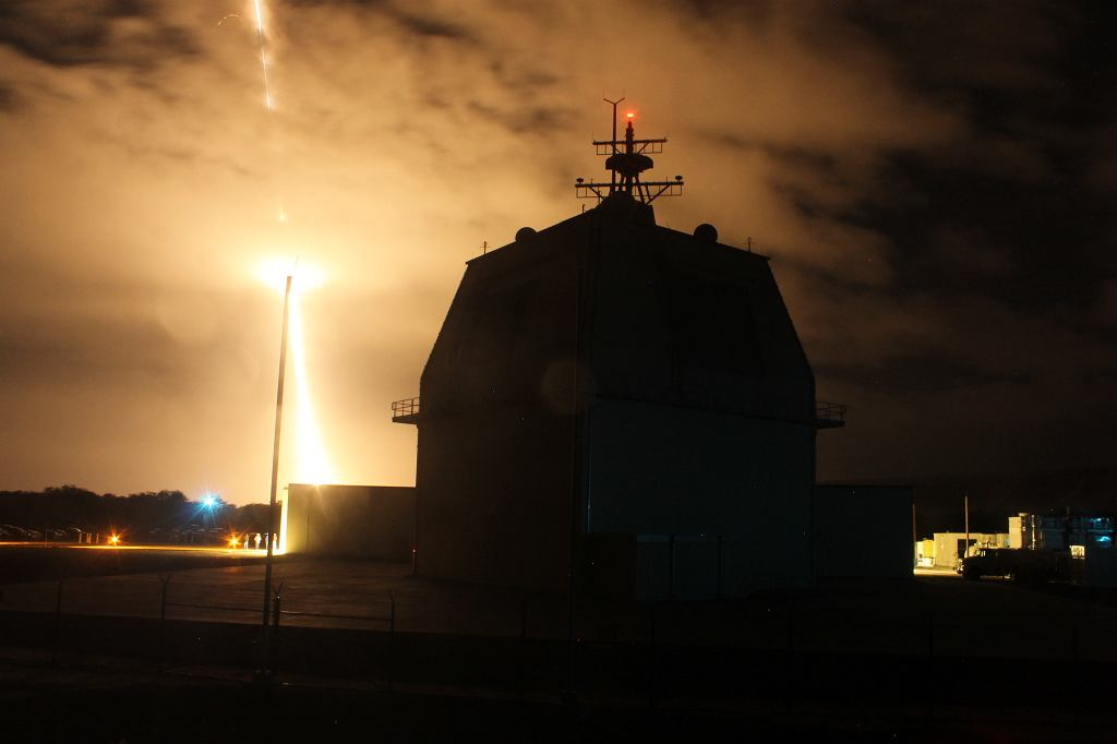Test systemu AEGIS Ashore na Hawajach