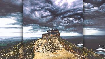 Niezwykłe zjawisko nad Kasprowym Wierchem