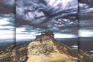 """Chmury Asperitas widuje się niezwykle rzadko, a pokazały się nad Kasprowym. """"Oko Saurona do kwadratu"""""""