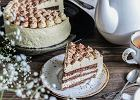 Tort tiramisu - doskonały na małe i duże okazje [PRZEPIS]