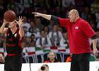 """Trener """"Czarnych Koszul"""" Andrzej Kierlewicz."""