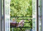 Balkon: ogródek za oknami
