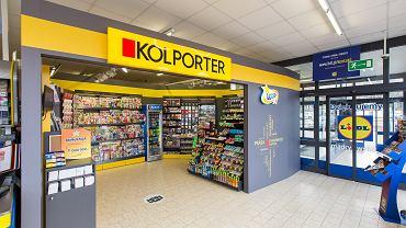 Salonik Kolportera w sklepie sieci Lidl