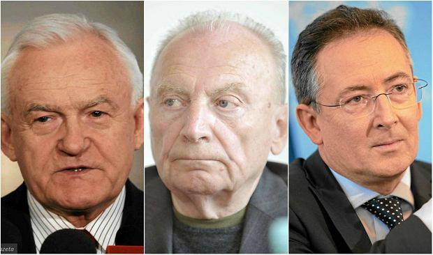 """Milczanowski, Kalisz, Sienkiewicz i inni: byli szefowie MSW przeciwko """"dezubekizacyjnym"""" planom rządu PiS"""