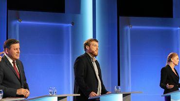 Adrian Zandberg, Partia Razem, podczas debaty liderów