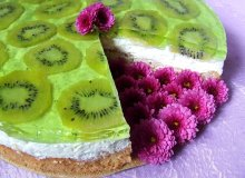 Limonkowy torcik z kiwi - ugotuj