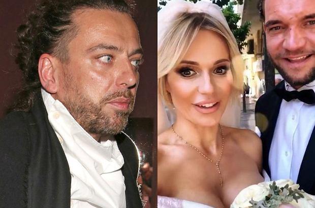 """Dziennikarze """"Twojego Imperium"""" poprosili Emila Haidara, by skomentował ślub swojej byłej narzeczonej."""