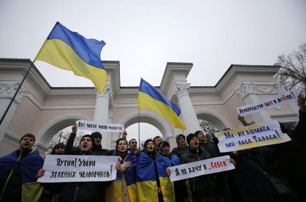 Antyrosyjskie protesty na Ukrainie