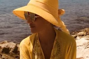 Justyna Steczkowska na wakacjach