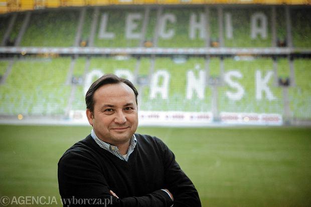 Zdjęcie numer 1 w galerii - Adam Mandziara, prezes Lechii Gdańsk: Liga Mistrzów? Myślimy. Ale jeszcze nie teraz