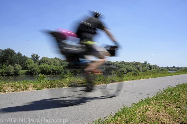 Ścieżka rowerowa w Krakowie