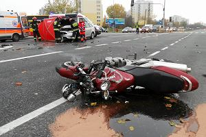 Ojciec wiózł 4-letnie dziecko motocyklem. Doszło do tragicznego wypadku