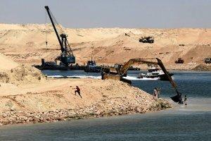 Uko�czono budow� Nowego Kana�u Sueskiego. Po 11 miesi�cach
