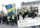 """""""Demonstracja ludu"""" w Sztokholmie"""