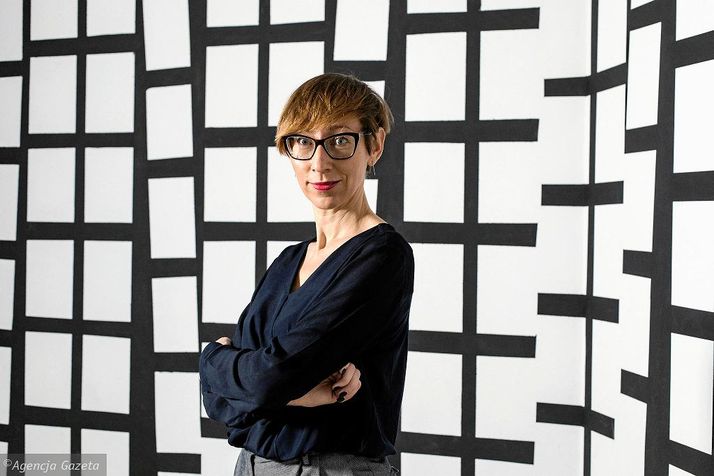 Małgorzata Ludwisiak, dyrektorka CSW Zamek Ujazdowski  / DAWID ŻUCHOWICZ