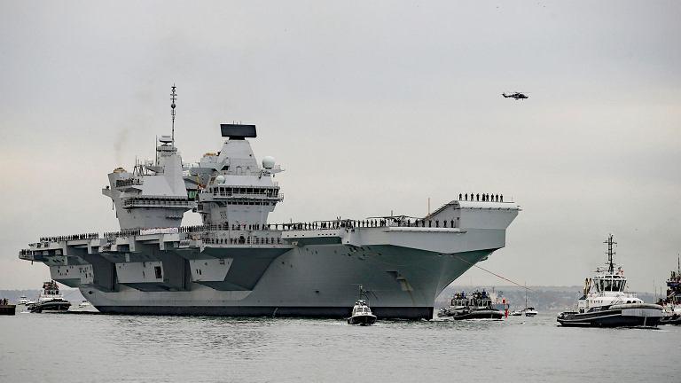 Superlotniskowiec HMS Queen Elizabeth