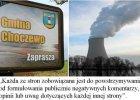 Atomowy szanta�: gmina zarabia, gdy nie krytykuje rz�dowej sp�ki