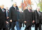Od lewej: Jerzy Buzek, Roman Giertych, Bronisław Komorowski i Aleksander Hall