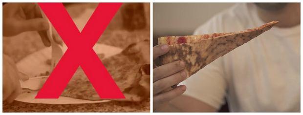 Jak poprawie zjeść pizzę?