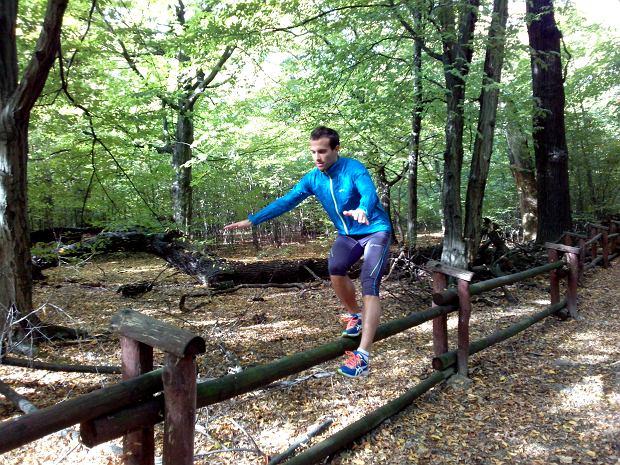 bieganie terenowe, trening, równowaga
