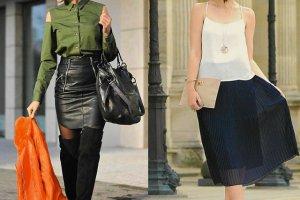 Street fashion: modne sp�dnice w stylizacjach naszych czytelniczek