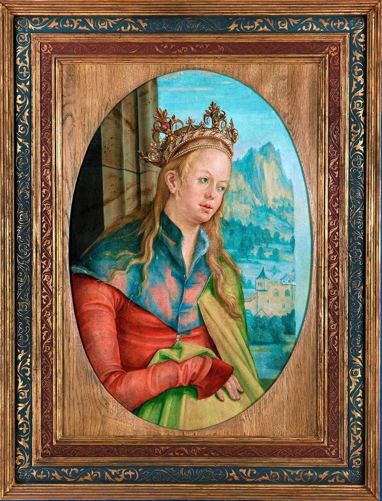 Katarzyna Aleksandryjska, Hans Suess von Kulmbach  / MUZEUM NARODOWE W KRAKOWIE