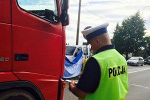 Tragiczny wypadek w Malborku. TIR potr�ci� m�czyzn�