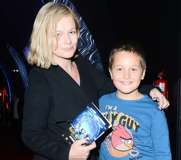 Dominika Ostałowska, syn.
