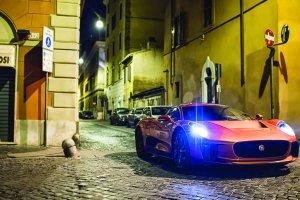 Salon Frankfurt 2015   Jaguar Land Rover i James Bond   Du�e zdj�cia