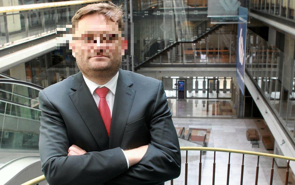 Paweł T., były wiceminister zatrzymany w związku ze sprawą prywatyzacji Ciechu