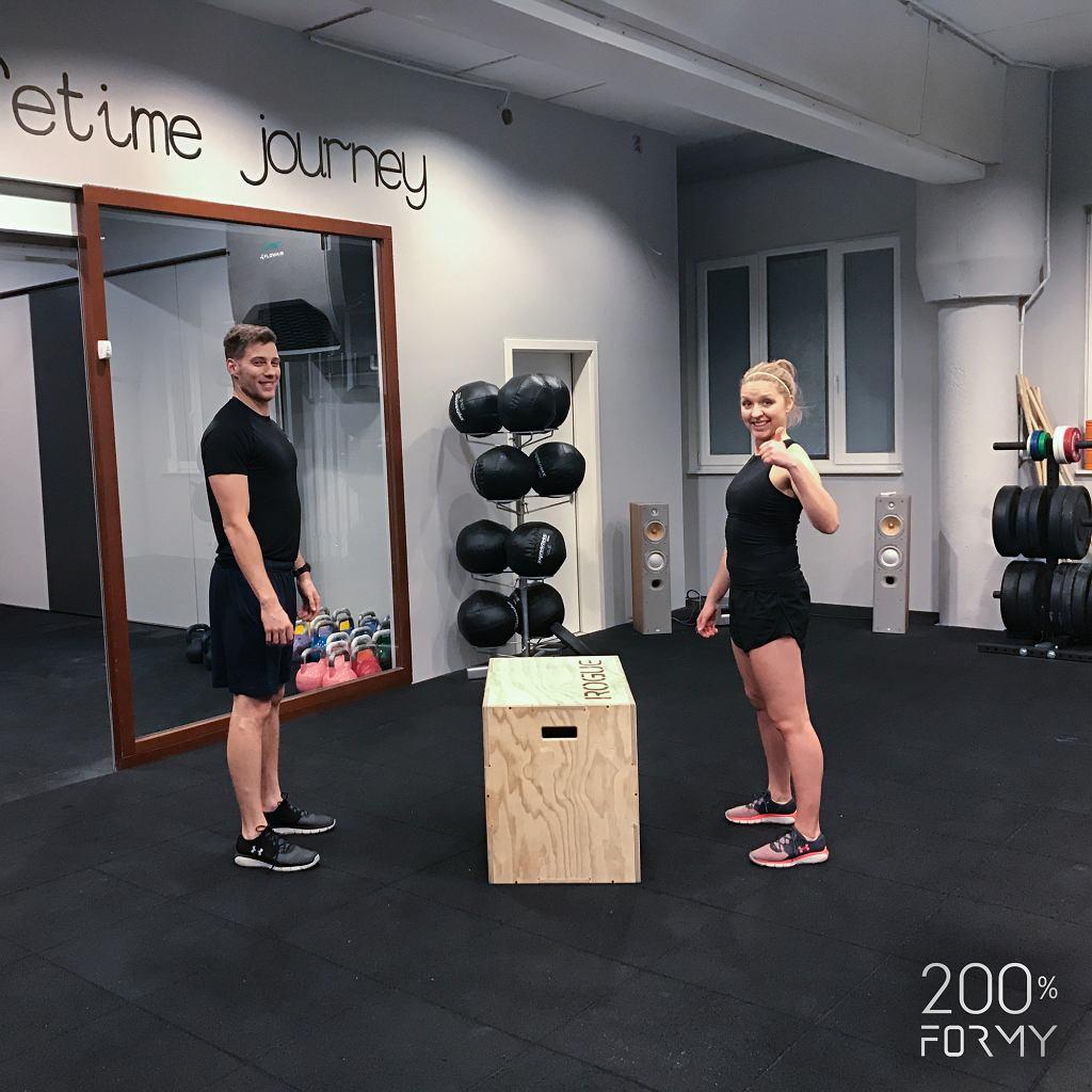 Zestaw ćwiczeń we dwoje