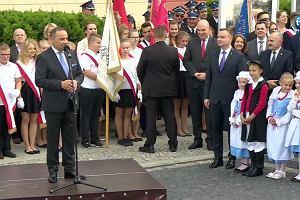 """Burmistrz przekręcił imię prezydenta. Przedstawił go jako """"Aleksandra Dudę"""""""