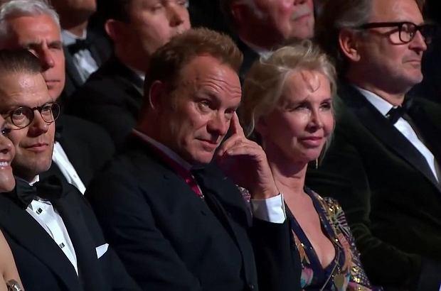 """Sting był gościem gali Polar Music Prize, na której Jose Feliciano - znany przed laty portorykański kompozytor - ZMASAKROWAŁ """"Every Breath You Take"""". Trudno dziwić się reakcji lidera The Police."""