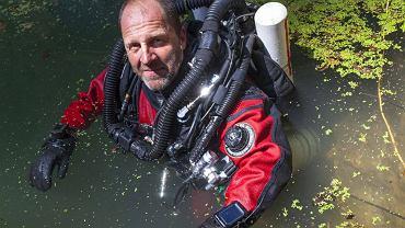 Krzysztof Starnawski, nurek i speleolog. Odkrył najgłębszą na świecie zalaną jaskinię. Zostanie Podróżnikiem Roku 2016?