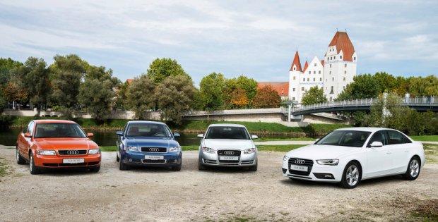 20 lat Audi A4 | Nowa generacja w 2015 roku