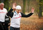 Biegowe wyr�nienie dla Jana Morawca, 81-letniego mistrza �wiata w maratonie