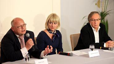Robert Kozak, Agnieszka Odorowicz i Jacek Weksler