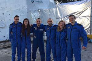 Polacy rozpoczęli misję księżycową. W habitacie kosmicznym spędzą najbliższe dwa tygodnie