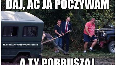Antoni Macierewicz przyjechał do Rytla