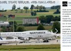 Zurych: samoloty kanclerz Merkel, prezydenta Hollande'a i Iron Maiden