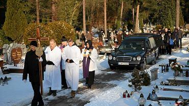 Pogrzeb Piotra Wawrzynowicza w Świnoujściu
