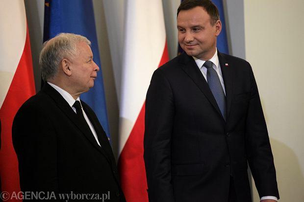 Pan Duda, Kumpela Szyd�o i Kolega Kaczy�ski