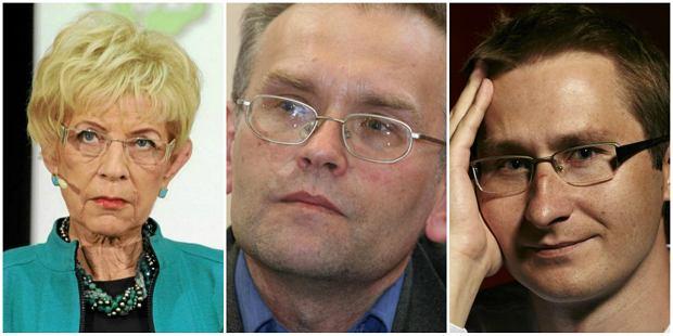 Janina Paradowska, Piotr Zaremba, Sławomir Sierakowski