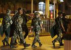 Chiny: Z nożami i siekierami napadli na posterunek policji. 11 osób nie żyje